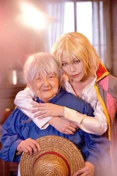 Howl's Moving Castle Photoshoot Includes The Best Grandma Cosplay Ever