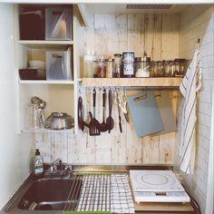 38 trendy home diy ikea kitchen cabinets Ikea Kitchen Design, Rustic Kitchen Cabinets, Kitchen Reno, Japanese Apartment, Little Kitchen, Kitchen Small, Apartment Kitchen, Apartment Ideas, Trendy Home