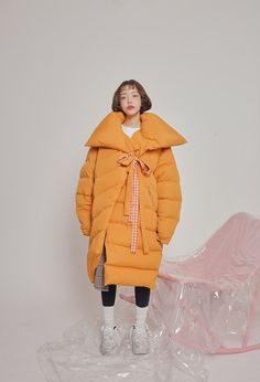 21 Puffer Coats That Will Make You Feel Like You Never Left Your Bed Just remember: You're warm if your butt's warm! Long Winter Coats, Winter Coats Women, Winter Leather Jackets, Winter Jackets, Warm Jackets, Leather Trench Coat, Leather Coats, Leather Gloves, Lambskin Leather