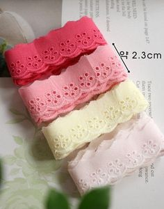 Hey, I found this really awesome Etsy listing at https://www.etsy.com/listing/276628234/cotton-lace-trim-edging-trim-cherry-pink