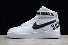 f95ccdc16b4 Supreme x Nike Air Force 1 High White 698696-100 Mens and Womens Size Nike