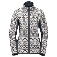 Jack Wolfskin Hazelton Flex fleece vest dames ebony