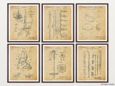 Ski Patent Posters  Skiing Art  Skiing by WunderKammerEditions