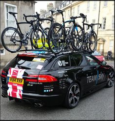 Tour Of Britain, 21st Century Fox, Jaguar Xf, Photo Competition, Tours, Bike, Car, Vehicles, Bicycle