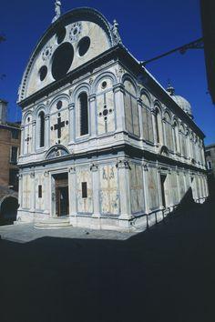 Church of Santa Maria dei Miracoli, Venice - Built between 1481 and 1489 by Pietro Lombardo