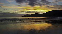 Seopori Beach Sunset