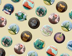 """Check out new work on my @Behance portfolio: """"Impossible Magnets"""" http://on.be.net/1pxkevE"""