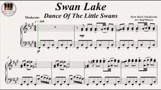 Swan Lake, Dance Of The Little Swans - Pyotr Ilyich Tchaikovsky, Piano https://youtu.be/dY2924_Bg0g