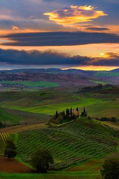 Colores de la Toscana.