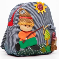 childrens fisherman backpack - hardtofind.