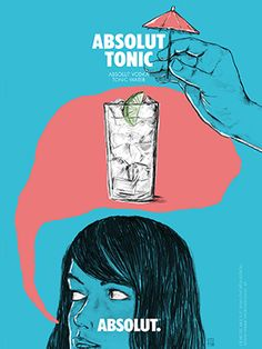 Poster for Absolut Vodka Austria Vodka Tonic, Shops, Absolut Vodka, Tonic Water, Phobias, Drinks, Memes, Projects, How To Make