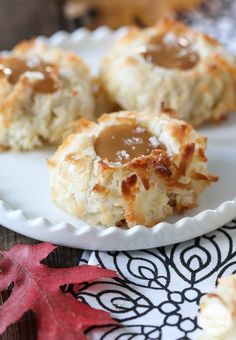 Salted Caramel Coconut Thumbprint Cookies | Community Post: 21 Delicious Cookie Recipes To Make This Fall