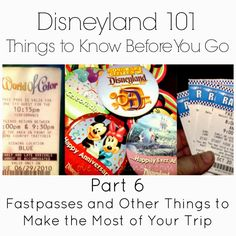 Love Our Disney: Disneyland 101- Things to Know Before You Go {Part 6} Yes- you can get a fastpass for more than one ride at a time with the trick in here!  Fastpass, Parent Swap, and more explained. Must read for first time Disneyland visitors!