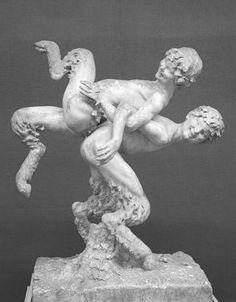 Deities, Pagan, Horns, Mythology, Lion Sculpture, Creatures, Statue, Gallery, Gates