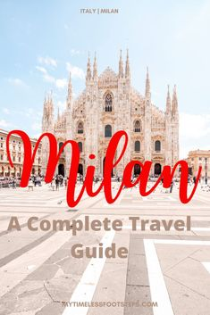 The City of Milan has many hidden treasures and you can't find those without wandering at your own pace, getting lost sometimes. Italy Travel Tips, Spain Travel, Travel Europe, Backpacking Europe, Travel Info, Travel Guides, Best Places In Italy, Milan Travel, Milan City