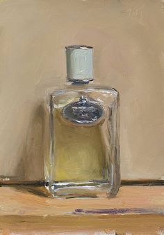 Perfume painting by Julian Merrow-Smith Still Life Drawing, Still Life Oil Painting, Painting Lessons, Painting Techniques, Still Life Artists, Realistic Paintings, Art For Art Sake, Painting Inspiration, Metal