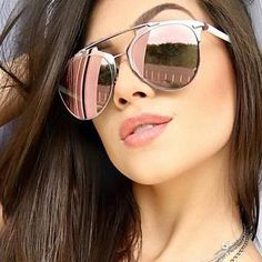 Shop the trendiest and latest in fashion sunglasses Oversized sunglasses Cat eye sunglasses Flat top sunglasses Squared sunglasses Aviator Flat Top Sunglasses, Mirrored Aviator Sunglasses, Mirrored Aviators, Dior Sunglasses, Stylish Sunglasses, Cat Eye Sunglasses, Sunnies, Rose Gold Aviators, Monica Rose