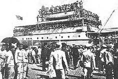 Embarque de infantaria 23 no «Moçambique».