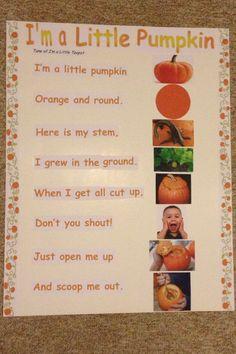 I'm a Little Pumpkin Song
