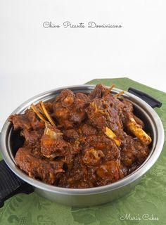 Recipe in English: Goat Stew Dominican Style  Creo que no me equivoco en decir que al igual que el sancocho dominicano , el chivo guis...