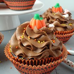 Chocolate Cupcakes with the Perfect Chocolate Buttercream
