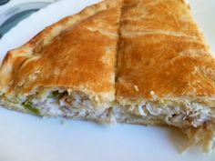 mari plateau: Κοτόπιτα με μπεσαμέλ και σπιτικό φύλλο