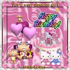 happy birthday granddaughter images | For A Very Special Girl. Free Happy Birthday eCards, Greeting Cards ...