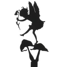 Thumpkin Fairy Garden Shadow Silhouette