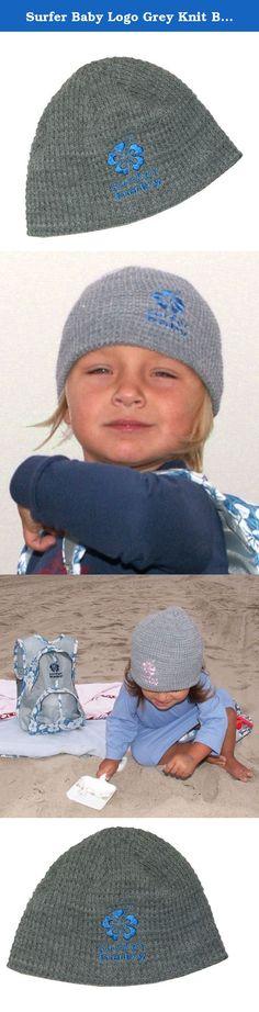 8b8d942427e Surfer Baby Logo Grey Knit Beanie Hat Skullcap for Infants (Blue). Have you