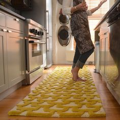 Angela Adams makes the most amazing rugs, bedding, and decor.  Love this Honeycomb-inspired wool tufted rug!