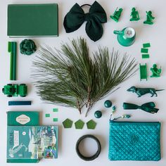 Collecting Colour : November is Forest Green