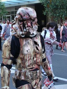 Geek Image: ZOMBIE STORM TROOPER cosplay style! one of the coolest ideas ever!