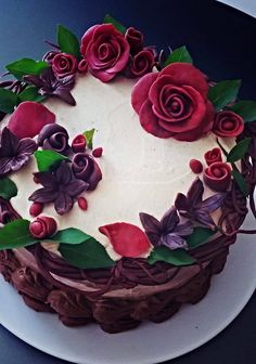 Mladina torta s dve čokolade