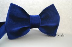 Hey, I found this really awesome Etsy listing at https://www.etsy.com/listing/233477501/velvet-bow-tie-blue-colour-all-sizes