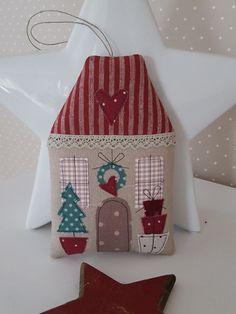 Weihnachtsdeko - Weihnachts- Haus Landhaus Geldgeschenk - ein Designerstück von Feinerlei bei DaWanda