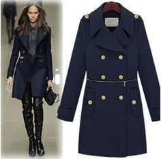 пальто синее купить - Поиск в Google