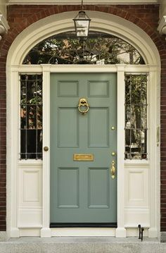 A fully dressed Front Door