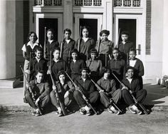 Howard University, Women's rifle team, Washington DC, 1937