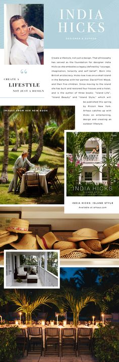 To celebrate the launch of our new Outdoor Living Collection, we caught up with designer and author India Hicks on her life in the Bahamas, making the most of your outdoor space, and the launch of …