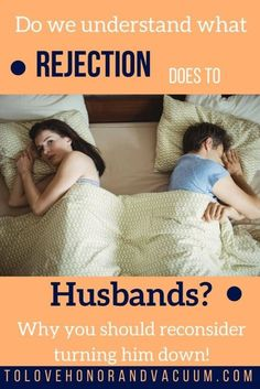 Turning your husband down again and again can have a devastating impact on your husband. Here's how you can enjoy your husband and help your marriage!