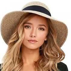 Summer Hat for Women Price: $ 38.52 & FREE Shipping #lingerie #bra #boudoir #fashion #photography #beautiful Panama, Summer Cap, Summer Beach, Summer Time, Round Hat, Summer Hats For Women, Stylish Hats, Bikini, Bags