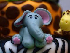 Fondant - Elephant by ♥ Sweet Creamz ♥, via Flickr