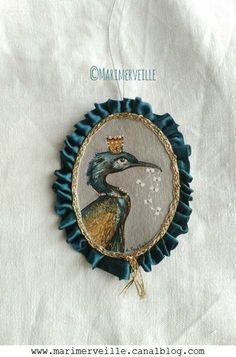 Médaillon Marimerveille Conte d'oiseau N° 13