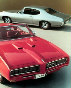 Memories..Eastern Auto was lucky to get one of the first GTO's in Atlantic Canada!1968 Pontiac GTO Hardtop and Convertible (by coconv)    viachromjuwelen