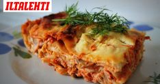 Food Inspiration, Feta, Food And Drink, Cooking Recipes, Ethnic Recipes, Waiting, Kitchen, Lasagna, Cooking