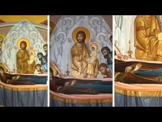 Byzantine Iconography Videos. M.Iconographer.Qirjako Kosova ( Gridesign - Iconography )