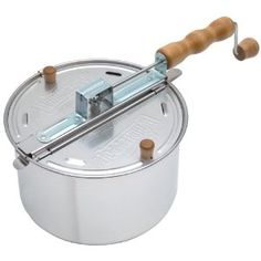 Whirley-Pop Stovetop Popcorn Popper. Now if only mine wasn't broken!