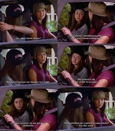 I always loved how the Gilmore Girls ate horrible food, but looked so skinny. It made their witty sarcasm barbed world that much more fantastical, in a good way.