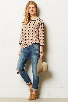 Arrowwood Tunic #anthropologie