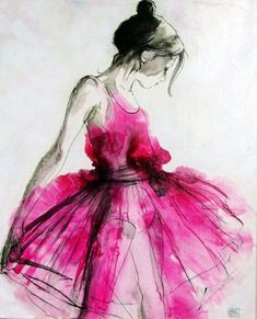 The personal assistant : photo watercolor illustration, watercolour painting, ballerina illustration, watercolor dress Watercolor Dress, Dress Painting, Watercolour Painting, Painting & Drawing, Neon Painting, Watercolor Water, Butterfly Watercolor, Watercolor Fashion, Fashion Painting